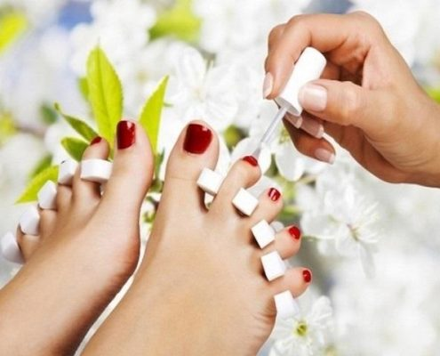 smalto piedi | pedicure | sun lovers group