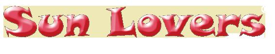 logo sun lovers bianco