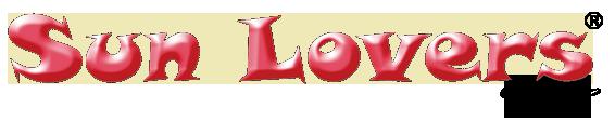 logo sun lovers nero